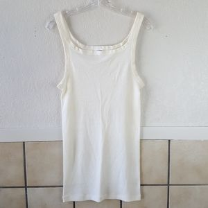 Ragno Made in Italy cream colored tank top NWOT